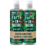 Faith in Nature Shampoing & Après-Shampoing à l'Aloe Vera