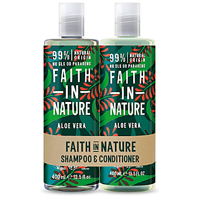 Faith in Nature Shampoing & Après-Shampoing à l'Aloe Vera