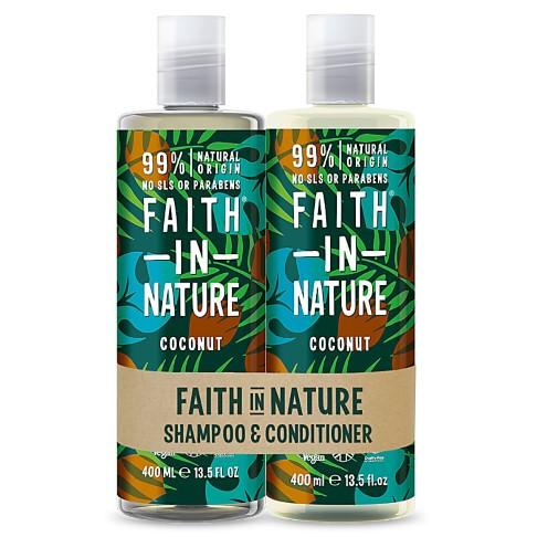 Faith in Nature Shampoing & Après-Shampoing à la Noix de Coco