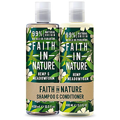 Faith in Nature Shampoing & Après-Shampoing Chanvre & Limanthe