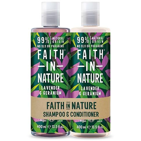 Faith in Nature Shampoing & Après-Shampoing Lavande & Géranium