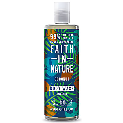 Faith in Nature Gel Douche et Bain à la Noix de Coco