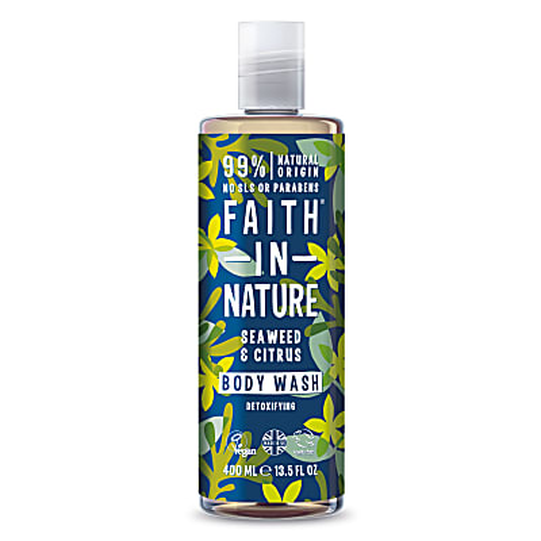 Faith in Nature Gel Douche & Bain aux Algues & Agrumes