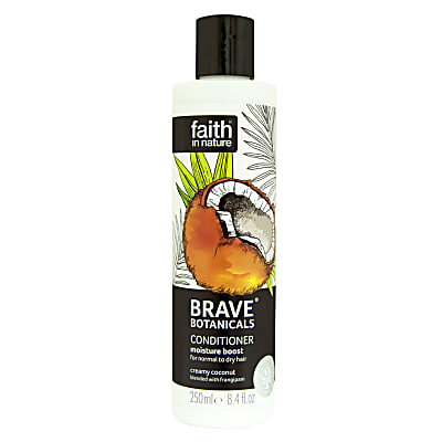 Faith in Nature Brave Botanicals Après-Shampoing Hydratant