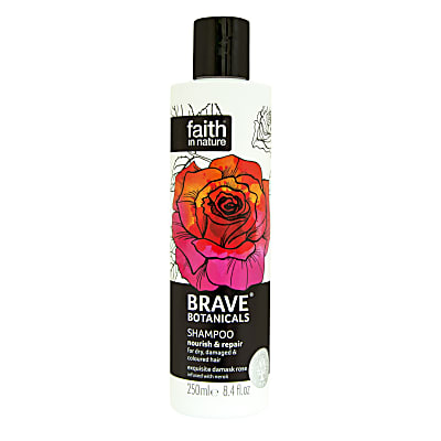 Faith in Nature Brave Botanicals Shampoing Réparateur