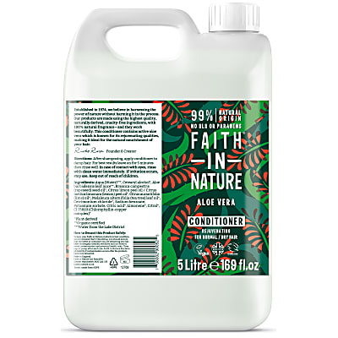 Faith in Nature Après Shampoing à l'Aloe Vera - 5 L