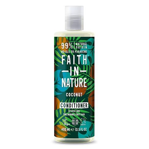 Faith in Nature Après Shampoing à la Noix de Coco