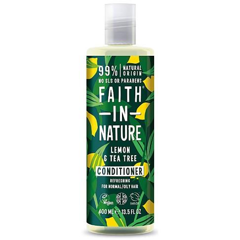 Faith in Nature Après Shampoing Anti-Pellicule Citron & Arbre à Thé
