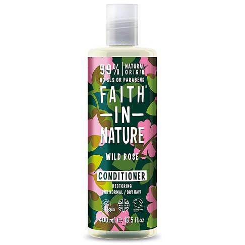Faith in Nature Après-Shampoing à la Rose Sauvage