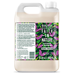 Faith in Nature Savon Main Liquide Lavande & Géranium 5 L