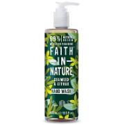 Faith in Nature Savon Main Liquide Algues & Agrumes - 400ml