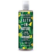 Faith in Nature Shampoing Anti-Pellicule Citron & Arbre à Thé
