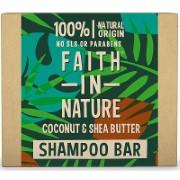 Faith in Nature Shampooing Solide à la Noix de Coco & Beurre de Karité