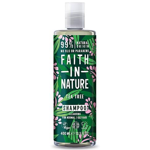 Faith in Nature Shampoing Arbre à Thé