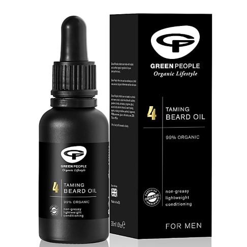 Green People pour l'homme; huile de barbe