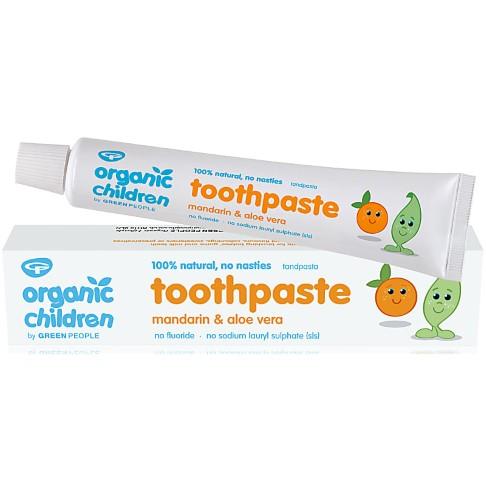 Green People Dentifrice pour Enfants à la Mandarine - 50 ml