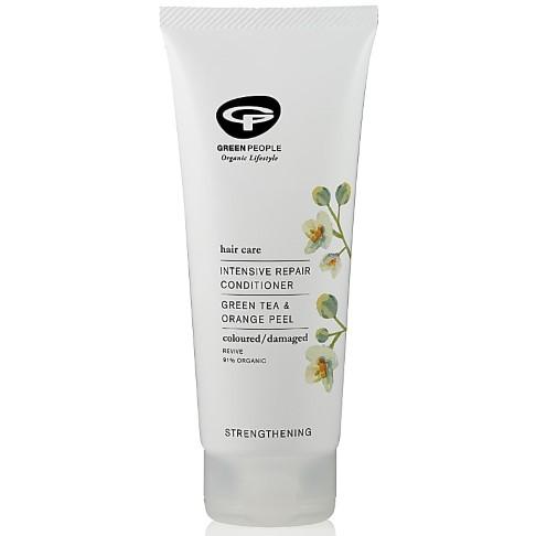 Green People - Après-Shampoing Soin Intensif - Cheveux Colorés, Secs