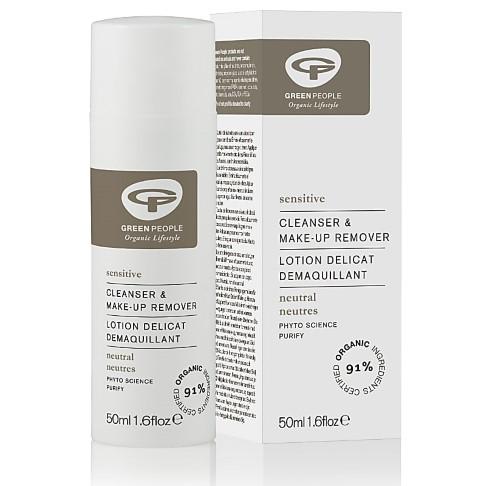 Green People - Nettoyant Visage Peaux Sensibles Sans Parfum 50 ml