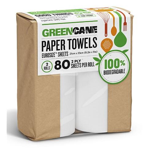 Greencane Paper Essuie-Tout (2 rouleaux)