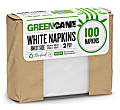 Greencane Paper Serviettes de Table (100 par pack)
