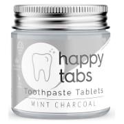 Happy Tabs Dentifrice en Pastilles - Menthe Charbon (sans fluor)