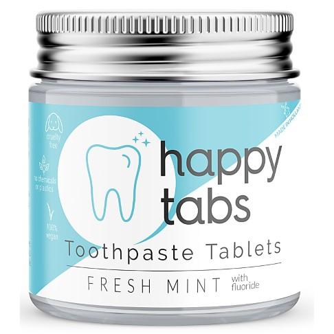 Happy Tabs Dentifrice en Pastilles - Menthe (fluor)