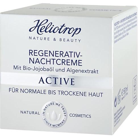 Heliotrop Crème Active Régénératrice Nuit
