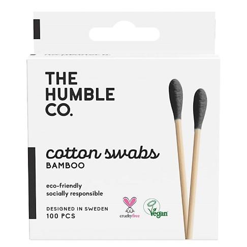 Humble Bâtonnets d'Oreille en Coton - Noir (100 unités)