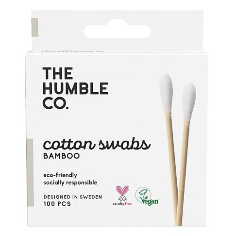 Humble Bâtonnets d'Oreille en Coton - Blanc (100 unités)
