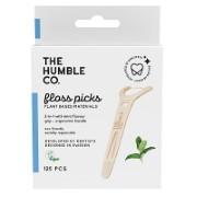 Humble Fil dentaire avec manche en bambou - Menthe (50)