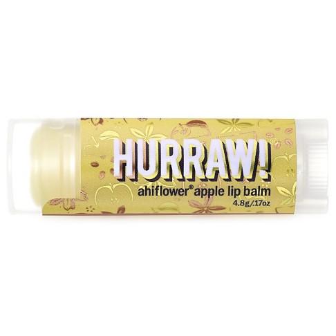 Hurraw Baume à Lèvres Ahiflower Pomme
