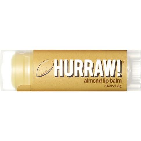 Hurraw Baume à Lèvres aux Amandes