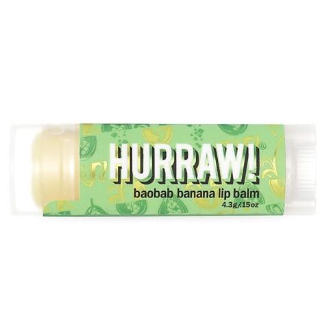 Hurraw Baume à Lèvres Baobab Banana