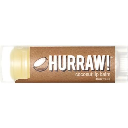Hurraw - Baume à Lèvres - Noix de Coco - 4,3 g