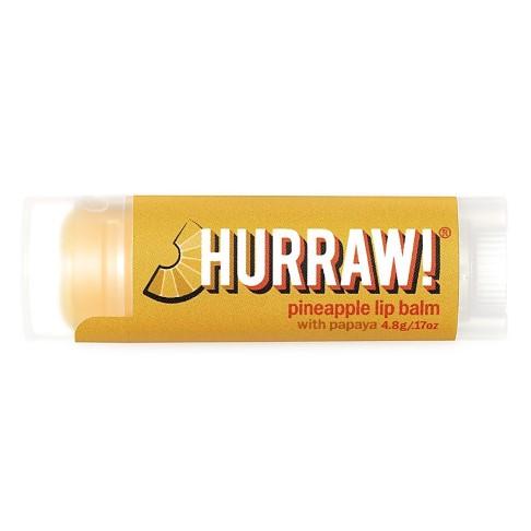 Hurraw Baume à Lèvres Ananas et Papaye