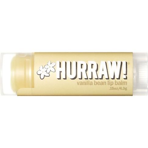 Hurraw - Baume à Lèvres - Vanille - 4,3 g