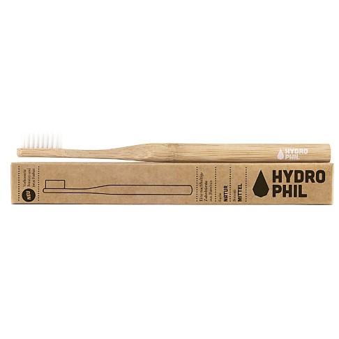 Hydrophil Brosse à Dents en Bambou - Naturel - Semi-dure