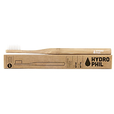 Hydrophil Brosse à Dents en Bambou - Naturel - Semi-dure