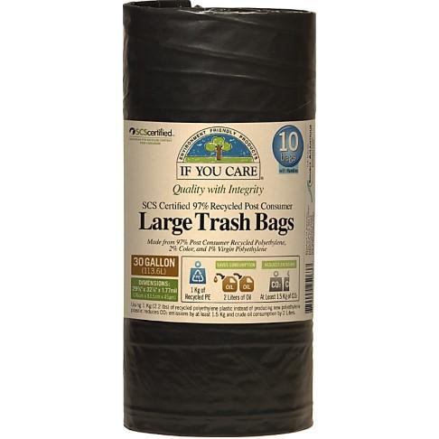 If You Care Sacs Biodégradables - 136L (10 sacs)