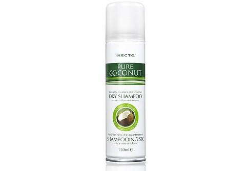Inecto - Shampoing Sec à l'huile de coco