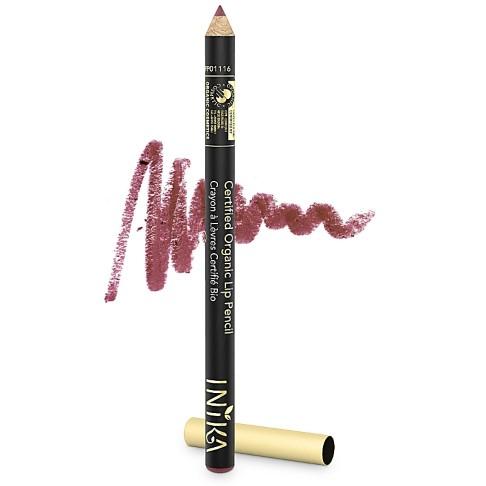 INIKA Crayon Contour des Lèvres Certifié Bio - Sugar Plum