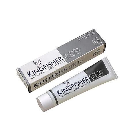 Kingfisher - Dentifrice Aloe Vera, Arbre à Thé & Menthe (Sans Fluor)