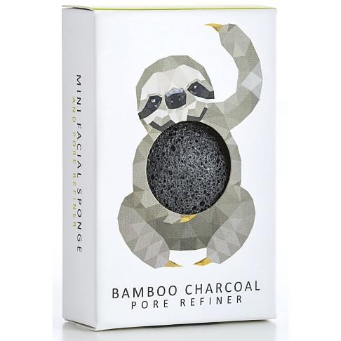 Konjac Mini Eponge Charbon de Bambou Edition Limitée - Paresseux