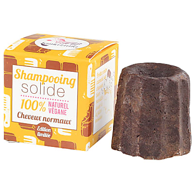 Lamazuna Shampoing Solide au Chocolat (cheveux normaux)