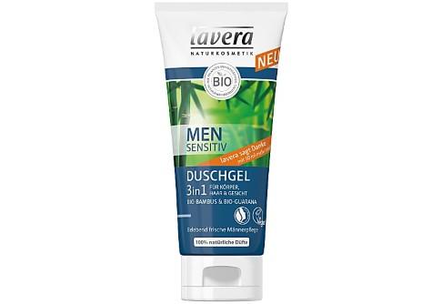 Lavera Men's Sensitiv Gel Douche 3 en 1