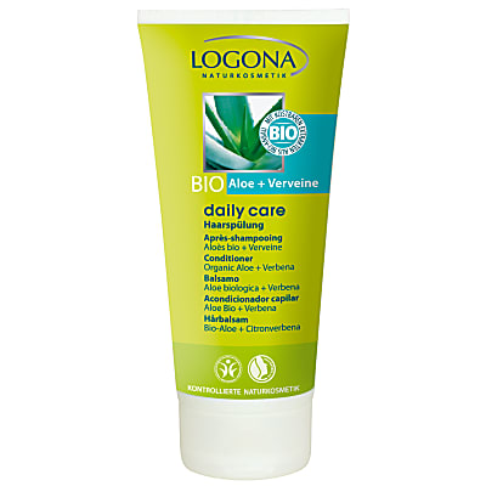 Logona - Daily care - Après-shampooing Bio - Aloe & Verveine