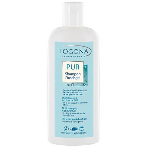 Logona - Pur - Shampooing et Gel douche Peaux très Sensibles