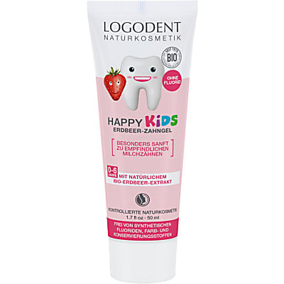 Logona - Gel dentaire Fraise Kids