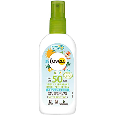 Lovea Spray Hydratant Enfants SPF50