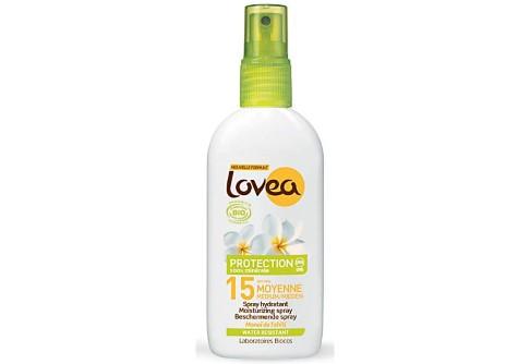 Lovea Spray Solaire Bio SPF15